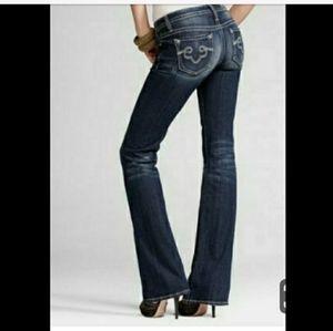 Express Rerock bootcut jeans size 6